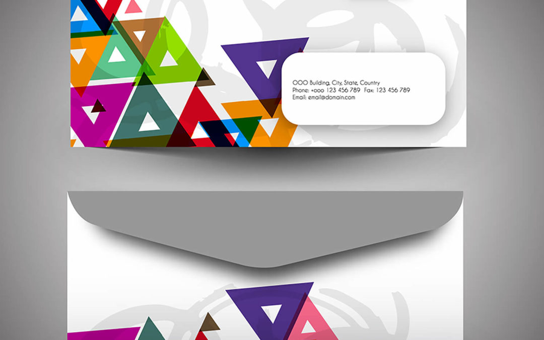 Four-Color Envelope printing gets your clients attention